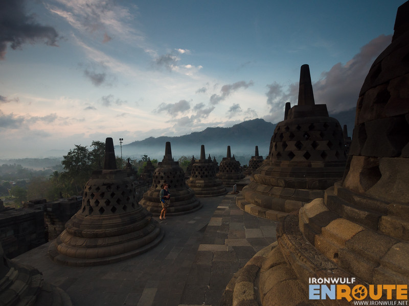 Early morning tranquility at Borobudur