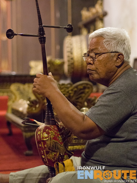 The rebab string instrument