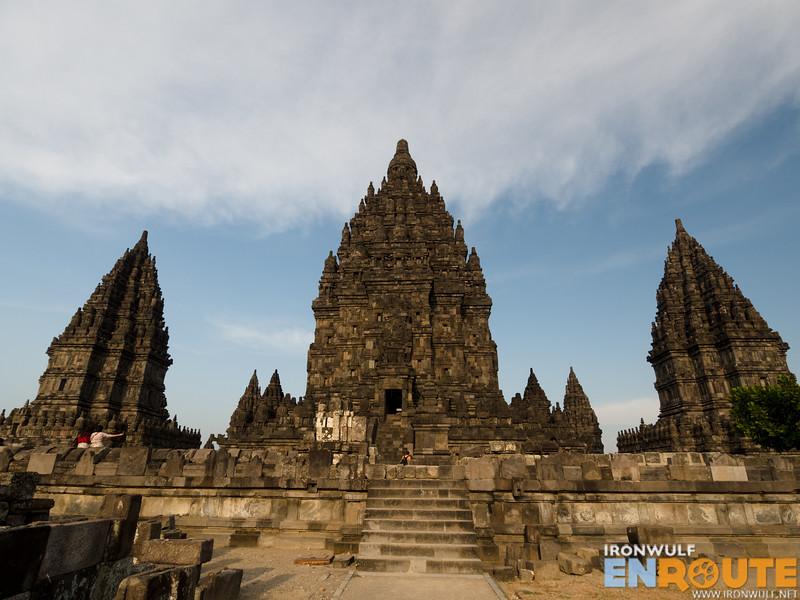The tallest structure in Prambanan, Candi Siva