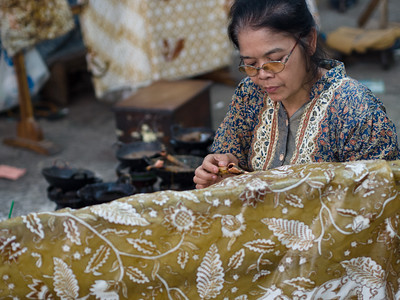 House of Danar Hadi Batik Workshop