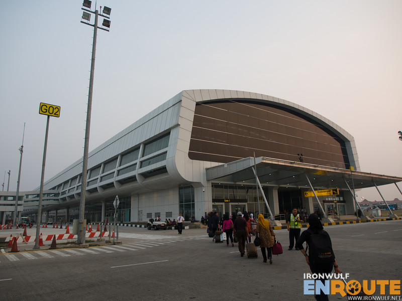 Arriving at the Terminal 3