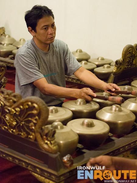 The Bonang Paneros gongs