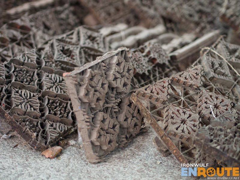 Batik Cap or copper plate stamps for batik prints