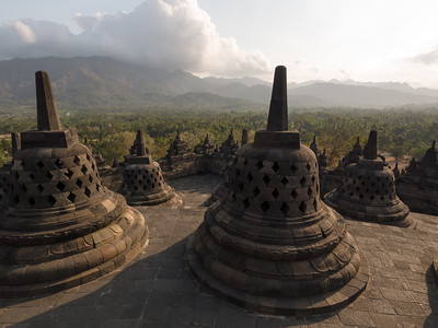 Borobudur afternoon
