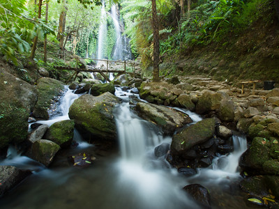 Jomog Waterfalls Mt Lawu