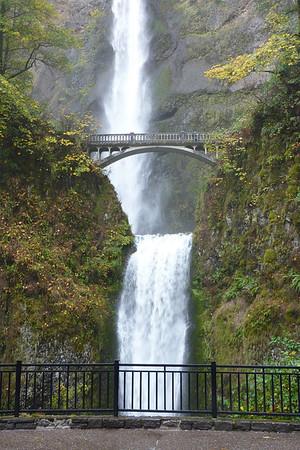 Columbia Gorge Waterfalls Oct 2012