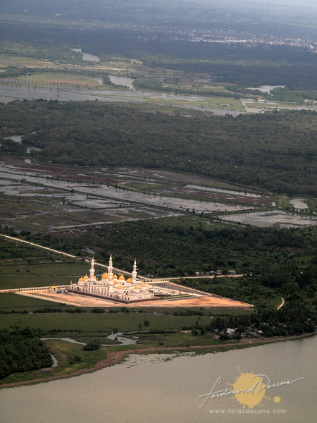The Grand Mosque seen from above