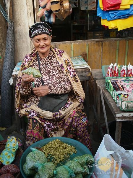 A bean vendor