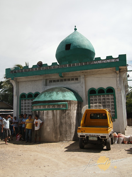 Mosque is a common sight in Cotabato City