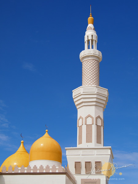 One of the 4 15-story high minarets