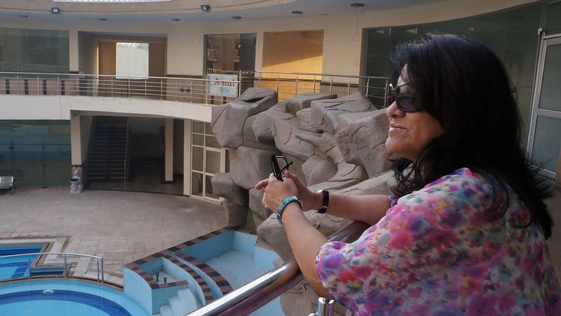 Swimming pool at our Delhi Condo