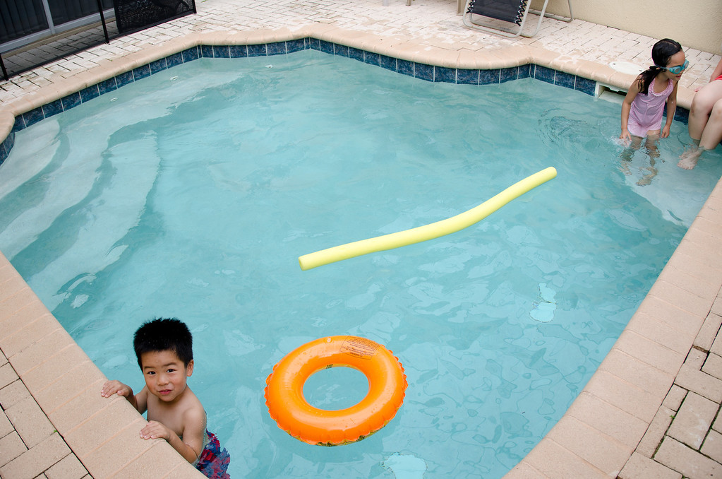 The splash pool at the townhouse was a great bonus; it calmed, relaxed, and re-energized kids everyday.