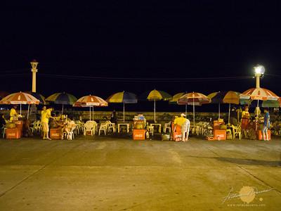 Rizal Boulevard Tempura Stalls