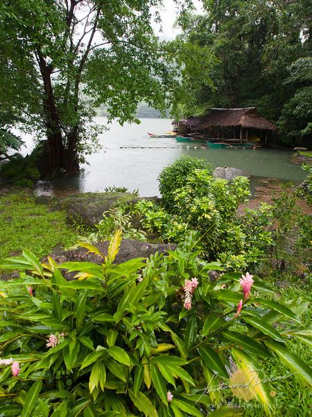 At the garden at Lake Balanan