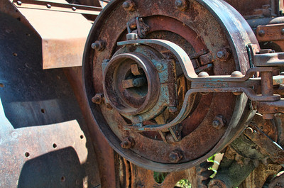 Old Tractors near Omak, WA