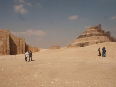 Step pyramid - around 2500 BC