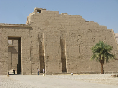 Medinet Habu Mortuary Temple