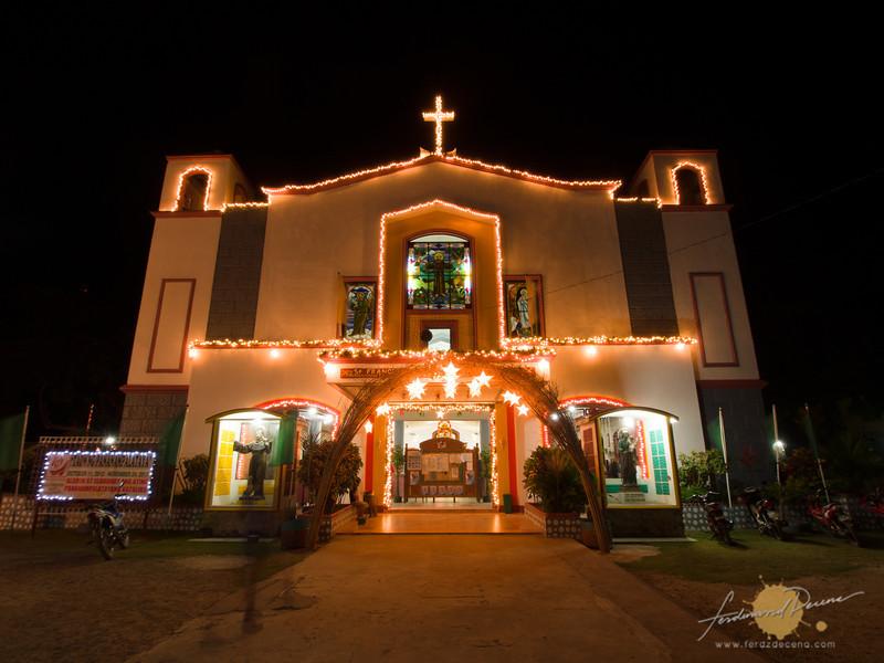 Facade of St Francis Assisi Parish