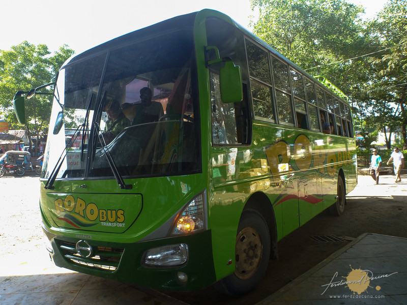 The non-aircon Roro Bus to El Nido
