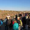 October 7, 2012.  Conversavtion Lands Foundation members visiting McInnis Canyons.