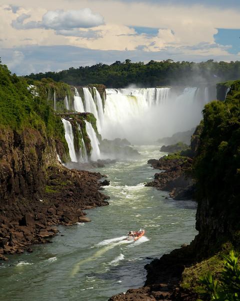 2012 Iguazu Falls From Antarctica Cruise