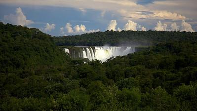 View of Iguazu Falls from the Sheraton Hotel