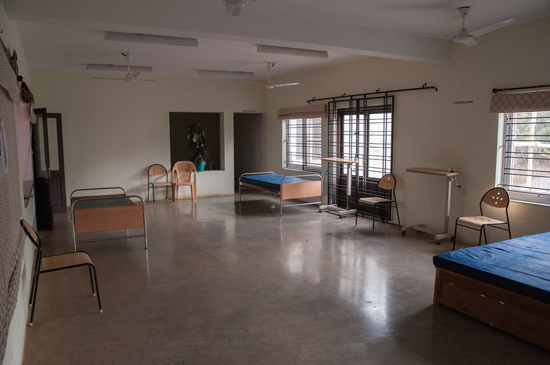 The occupational therapy room.