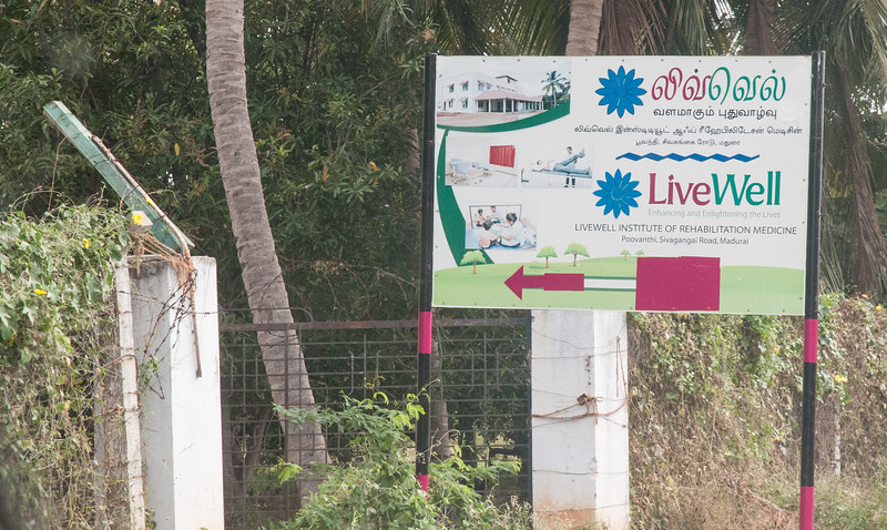 Dr. Aravind started this new operation, LiveWell, about 20km outside town.