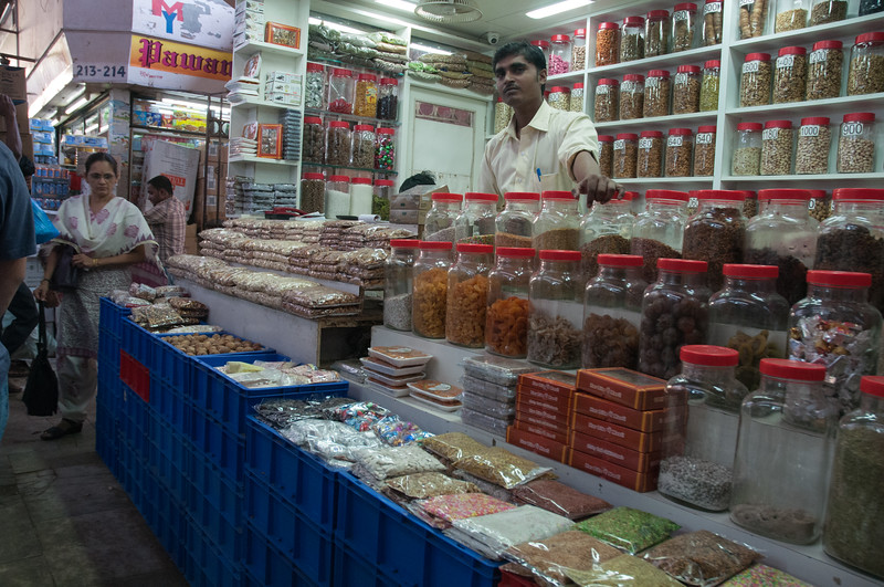 Crawford Market is packed with stalls selling everything you can imagine.