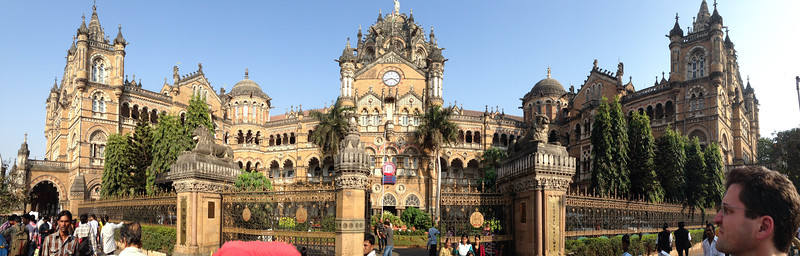 The central train station, CST, formerly Victoria Terminal.