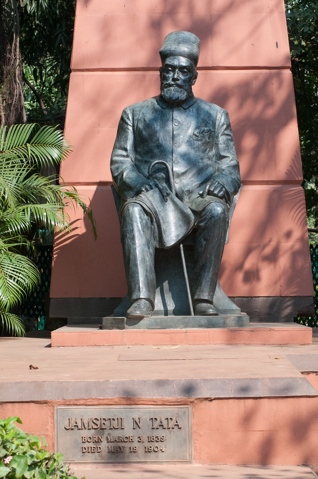 Statue of J.N. Tata, founder of the Tata corporate empire and so many other things, including IISc.