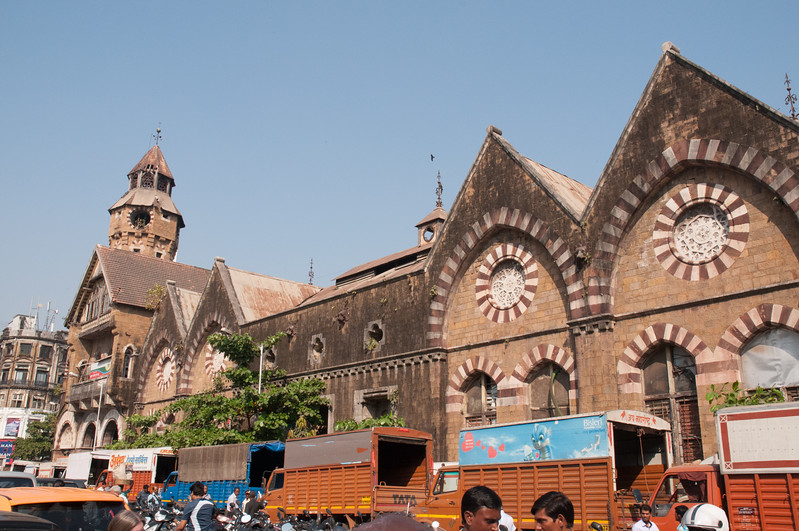Crawford Market, South Mumbai; once grand, always busy, now a bit tired.