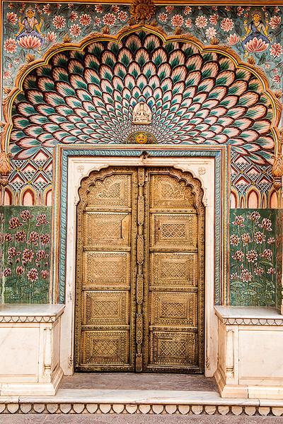 Pritam Niwas Chowk, City Palace; Jaipur.