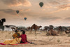 Pushkar Camel Fair<br /> <br /> There are early morning balloon flights available.