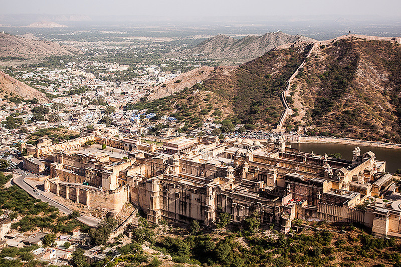 View of Amber Fort from Jaigarh, Jaipur