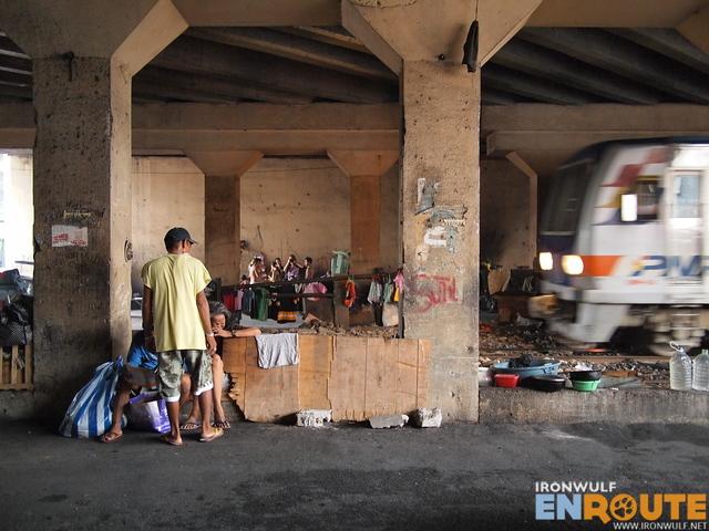 PNR pass by under this bridge