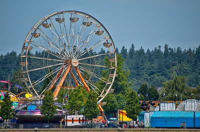 Lake Fair Carnival in Olympia, WA