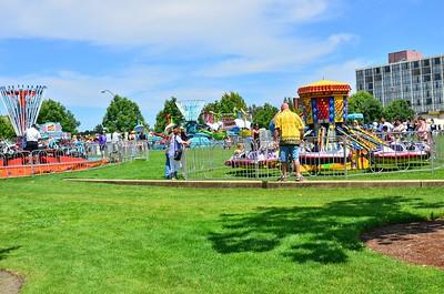 Lake Fair Carnival in Olympia, WA