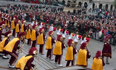 USC Trojan Band in London