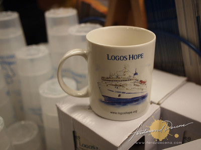 MV Logos Hope in Manila Pier 15