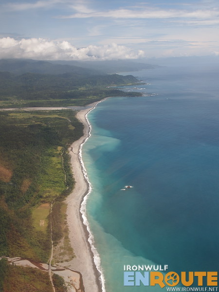 Beautiful beach stretch leading north of Cagayan