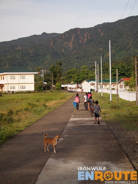 The main road in Maconacon