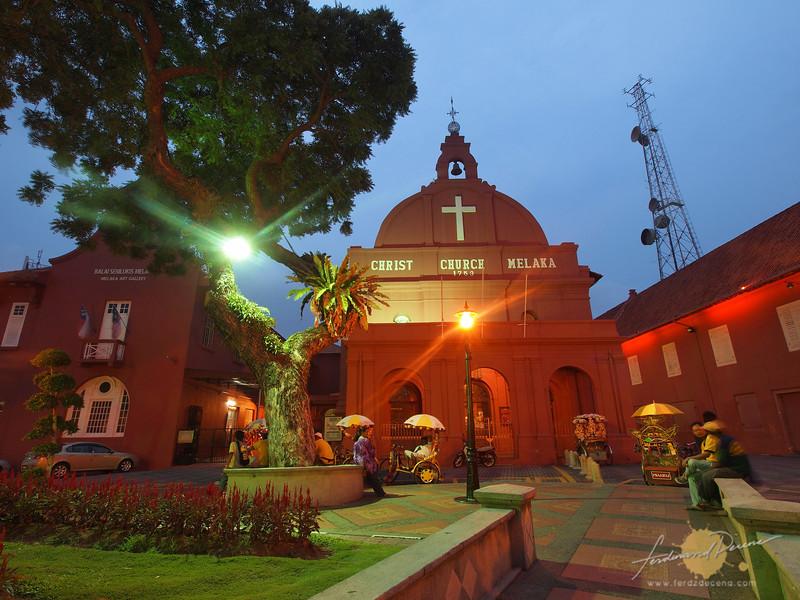 The church showcases Original Dutch Colonial Architecture
