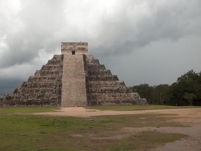 El Castillo, Kukulkan Pyramid, Chichen Itza