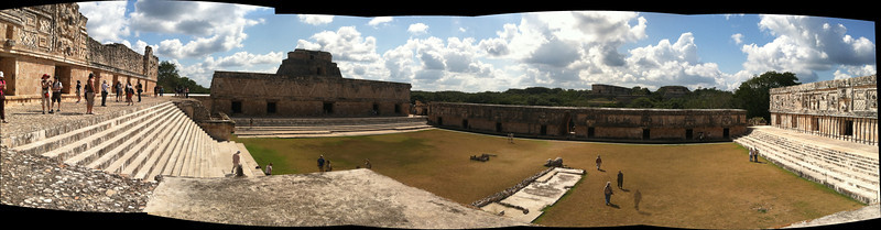 Uxmal, courtyard of the governor's palace