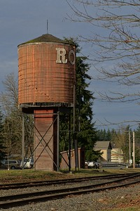 Water Tower in Roy, WA