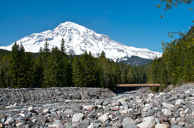 Mt Rainier from near Longmire.