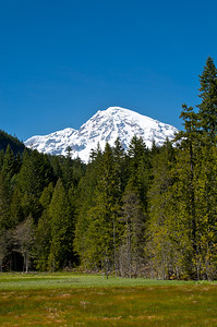 The mountain from Longmire.