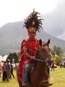 Tomohon International Flower Festival Minahasa Warrior