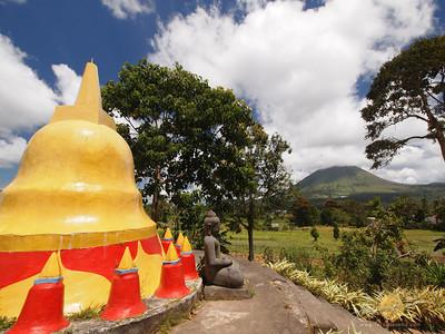 Vihara Buddhayana, Buddhist Temple, Tomohon